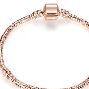 Jewelry - 🍭Pandora Bracelet Rose Gold 🍭(available Silver)